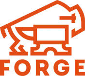 Forge Logo Large Orange